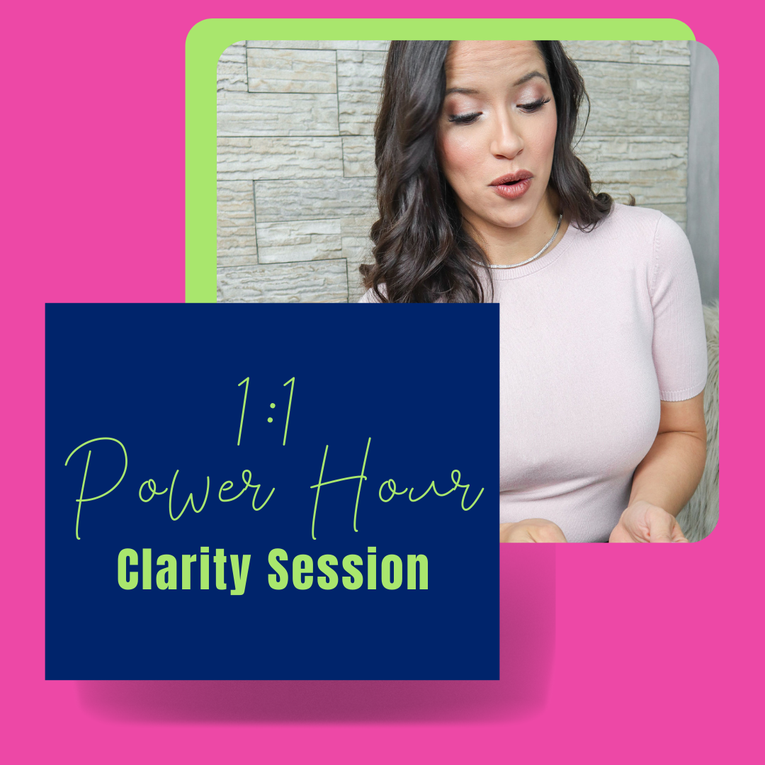 1:1 Power Hour Clarity Session